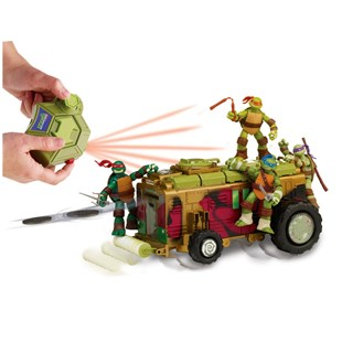 Turtles Remote Control Shell Raiser Vehicle