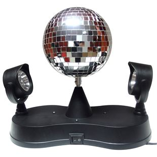 Mirror Peak Duo Disco Ball