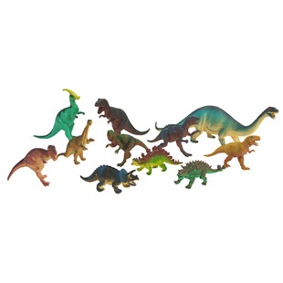 11 Piece Dinosaur Set