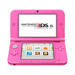 Nintendo 3DS XL Console: Pink