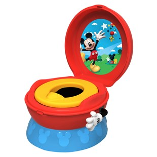 Tomy Disney Mickey Mouse Clubhouse 3-in-1 Toilet Training Seat