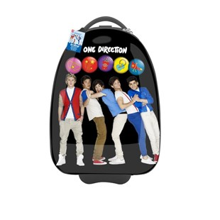 One Direction Trolley Bag with Lights