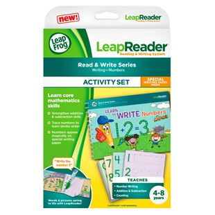 LeapFrog LeapReader Book Learn to Write Numbers