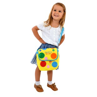Something Special Mr Tumble's Textured Spotty Bag