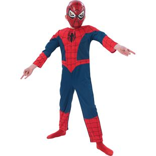Ultimate Spiderman Deluxe Muscle Chest Medium Costume