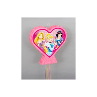 Princess Sparkle Heart Pull Pinata