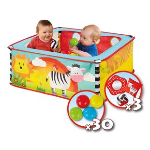 Worlds Apart GetGo A-Zebra Pop Up Ball Pit