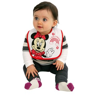Disney Cotton Bibs Minnie Mouse