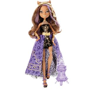 Monster High 13 Wishes Haunt the Casba Clawdeen Wolf Doll