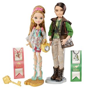 Ever After High Ashlynn Ella and Hunter Huntsman