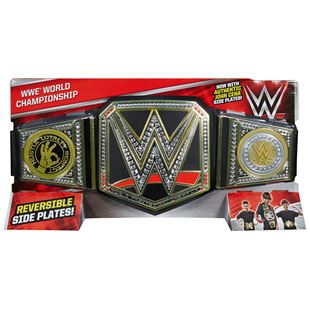 WWE Championship World Heavyweight Belt