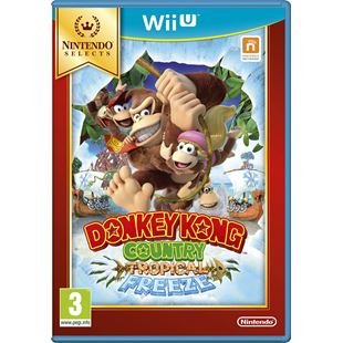 Donkey Kong Country: Tropical Freeze Select Wii U
