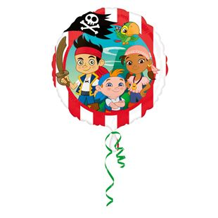 Jake and the Never Land Pirates Foil Balloon