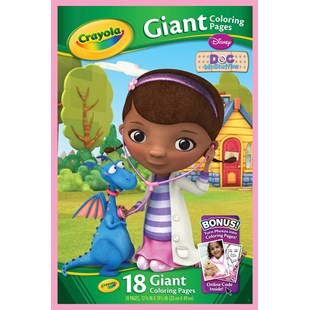 Crayola Doc McStuffins Giant Colouring Pages