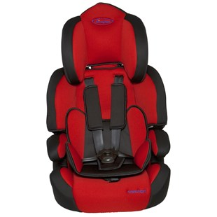 Dimples Comfort Group 1-2-3 Car Seat Red Black