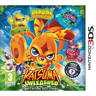 Moshi Monster Katsuma Unleashed 3DS