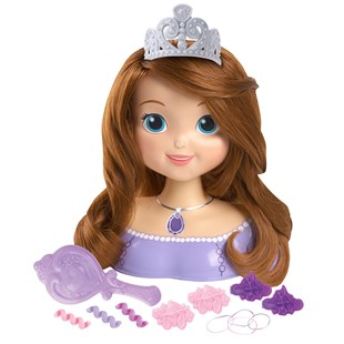 Disney Sofia the First Styling Head