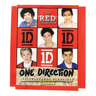 One Direction Red Sticker Collection