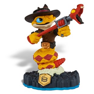 Rattle Shake: Skylanders SWAP Force Figure