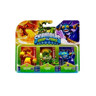 Skylanders SWAP Force Figures Triple Pack A