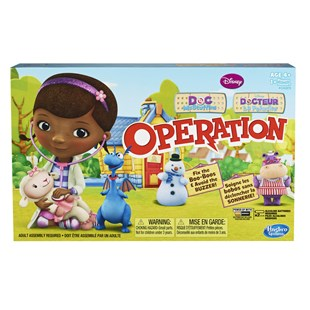 Doc McStuffins Operation Boardgame