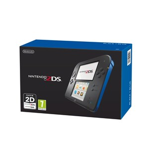 Nintendo 2DS Black and Blue Console