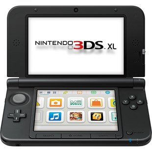 Nintendo 3DS XL Console: Black