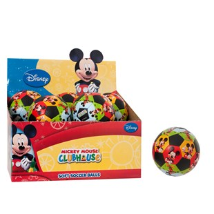 Mickey Soft Soccer Ball