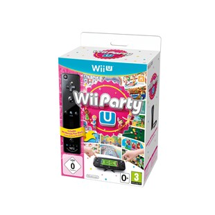 Wii Party U & Remote Plus Black WII U