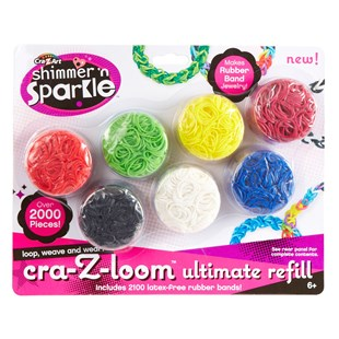 Crazy Loom Refill Pack