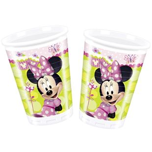 Disney Minnie Mouse Plastic Cups