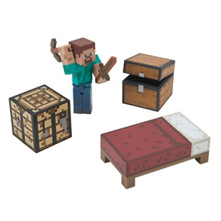Minecraft Core 7cm Player Survival Pack