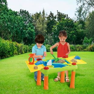 Sand and Water Play Table with 11 Accessories