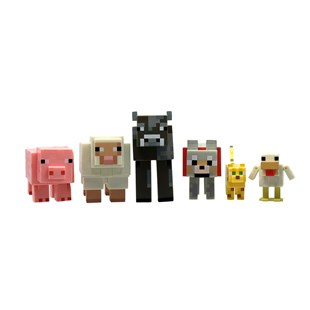 Minecraft Core Articulated Animal Mobs 6 Pack