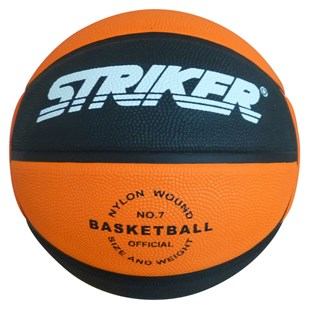 Rubber Orange Basketball Size 7