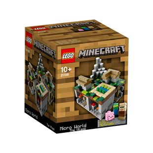 LEGO Cuusoo Minecraft Micro World The Village21105