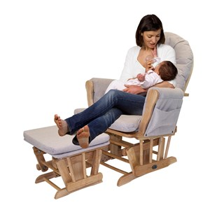 Babylo Oxford Glider Chair