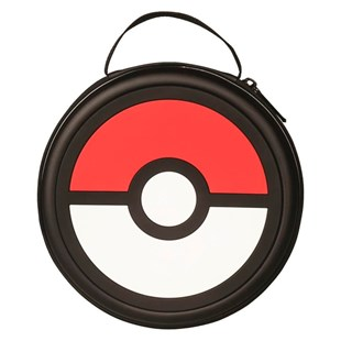 Pokeball Console & Games Zip Case