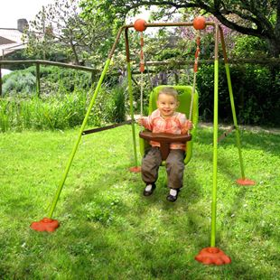 Soulet Foldable Baby Swing Set