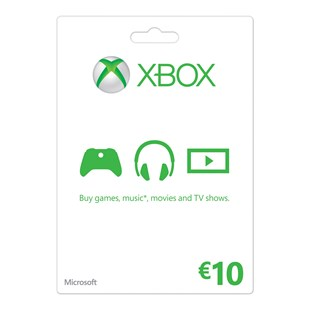 XBOX Live €10 Gold Card