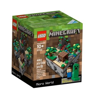 LEGO Cuusoo Minecraft Micro World The Forest 21102
