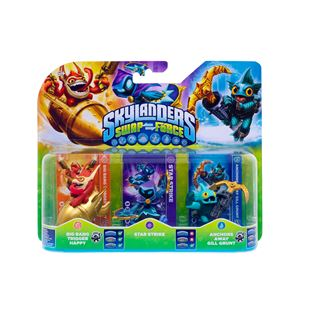 Skylanders SWAP Force Figures Triple Pack C