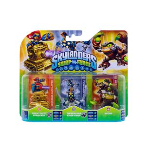 Skylanders SWAP Force Figures Triple Pack D