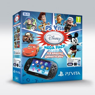 PlayStation Vita Console + Disney Mega Pack Bundle