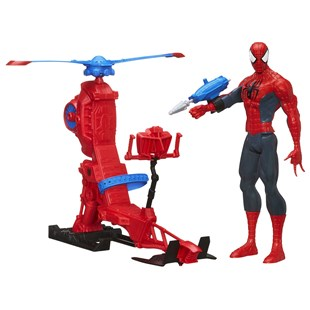 Ultimate Spider-Man with Web Copter