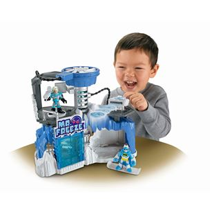 Fisher Price Imaginext Mr Freeze Headquarters