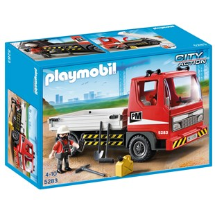 Flatbed Construction Truck 5283