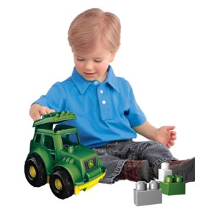 Mega Bloks First Builders Lil Vehicles John Deere Tractor