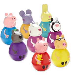 Peppa Pig Weebles Wobbly Figure