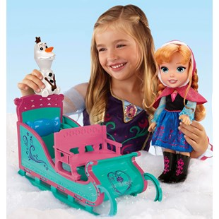 Anna's Frozen Adventure Sleigh Set
